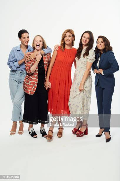 Elisa Lasowski Jessica Clark Aude Albano Anna Brewster and Suzanne Clement of Ovation's 'Versailles' pose for a portrait during the 2017 Summer...