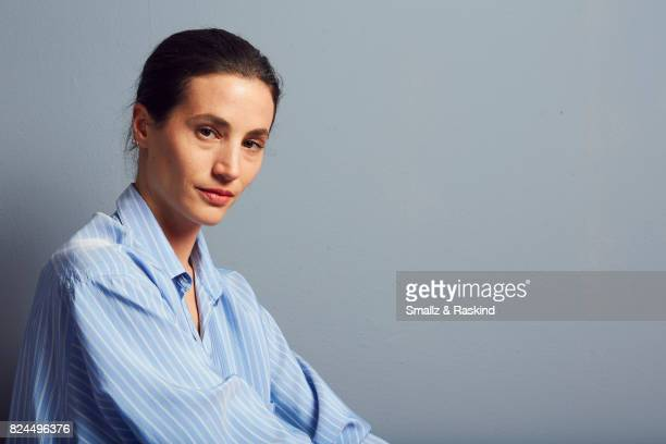 Elisa Lasowski of Ovation's 'Versailles' pose for a portrait during the 2017 Summer Television Critics Association Press Tour at The Beverly Hilton...