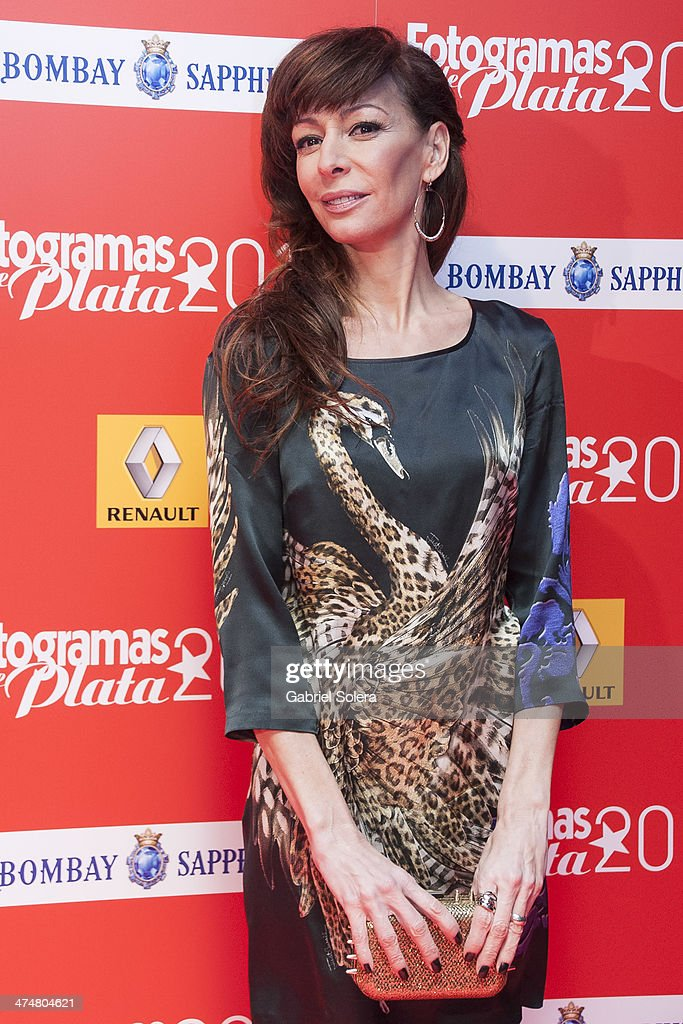 Elisa Matilla attends the 'Fotogramas Awards' 2013 at Joy Slava on February 24, 2014 in Madrid, Spain.