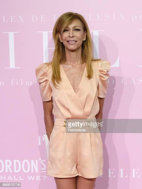 Elisa Matilla attends the 'Pieles' premiere pink carpet at Capitol cinema on June 7 2017 in Madrid Spain