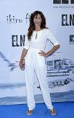 Elisa Matilla attends the premiere of 'El Nino' at Kinepolis Cinema on August 28 2014 in Madrid Spain