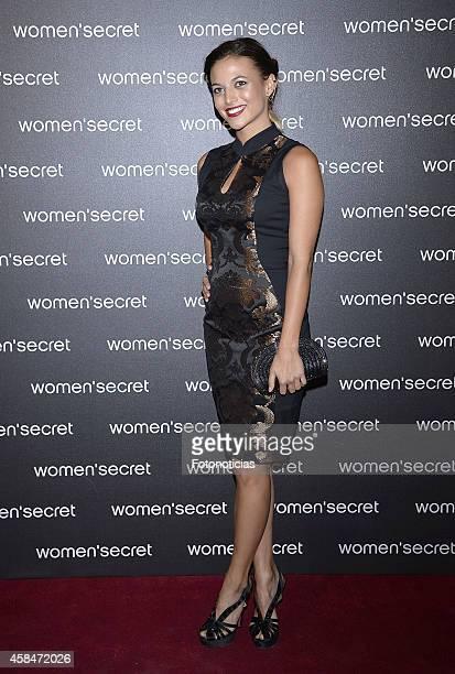 Elisa Mouliaa attends the Women Secret's 'Dark Seduction' fashion film premiere at Callao Cinema on November 5 2014 in Madrid Spain
