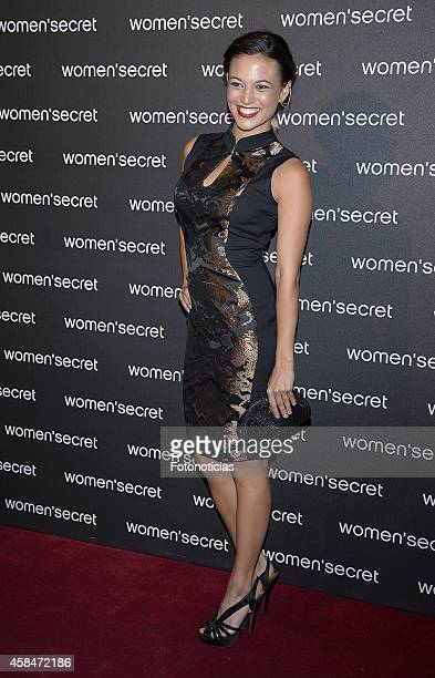 Elisa Mouliaa attends the Women Secret's 'Dark Seduction' fashion film premiere at Callao Cinema on November 5 2014 in Madrid Spain