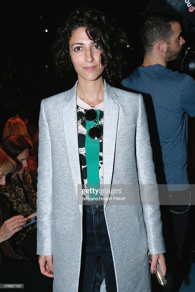 Nina Ricci : Front Row  - Paris Fashion Week Womenswear Fall/Winter 2014-2015