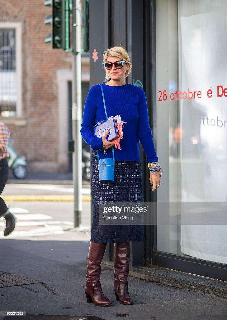 Street Style: Day 2 - Milan Fashion Week SS16