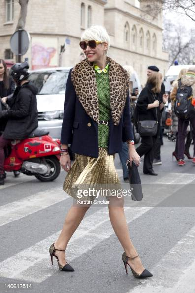 Street style at paris fashion week 2012 march 2 2012 photos and images getty images Fashion style via antonio panizzi