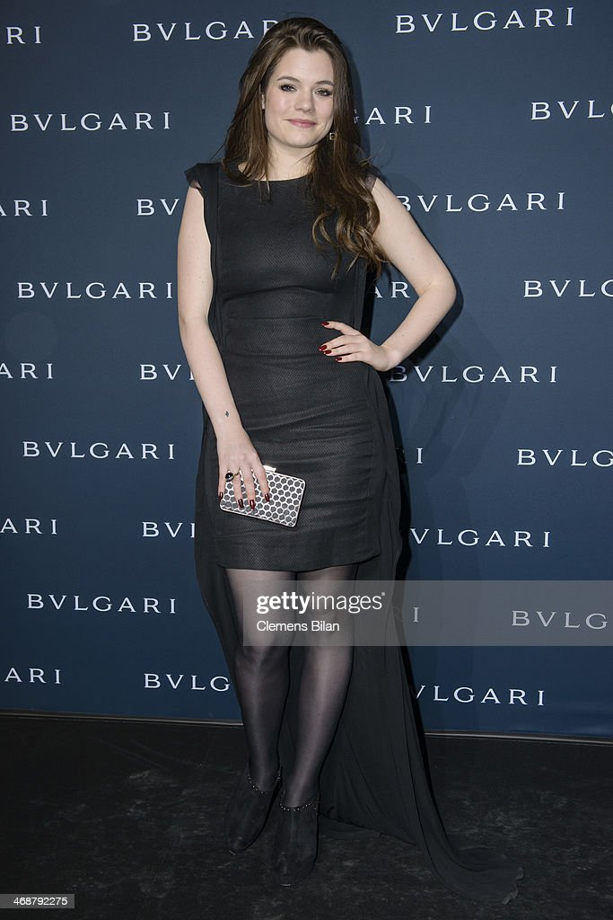Elisa Schmidt attends the 130 years of glam culture party by Bulgari at Kaufhaus Jandorf on February 11, 2014 in Berlin, Germany.