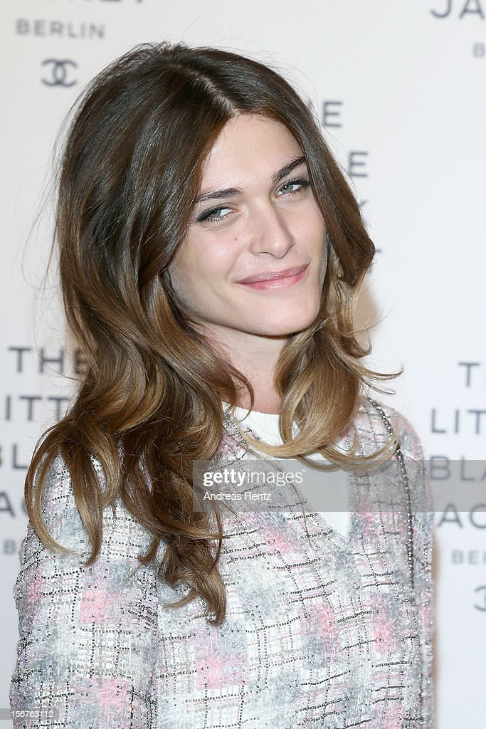 Elisa Sednaoui attends CHANEL 'The Little Black Jacket' - Exhibition Opening by Karl Lagerfeld and Carine Roitfeld on November 20, 2012 in Berlin, Germany.
