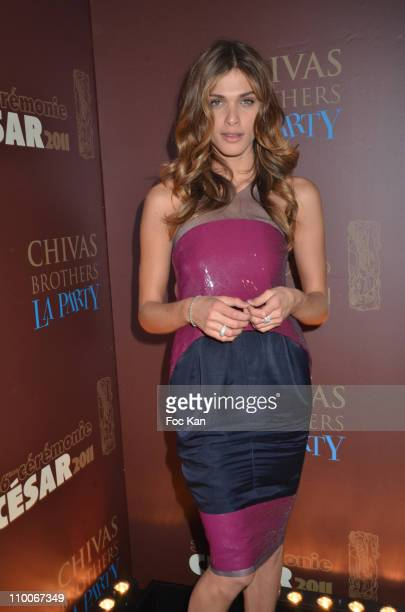 Elisa Sednaoui attends the Afterparty Arrivals At L'Arc Cesar Film Awards 2011 on February 25 2011 in Paris France