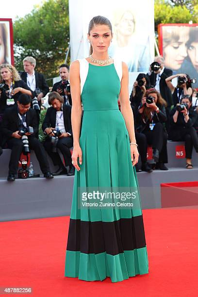 Elisa Sednaoui attends the closing ceremony and premiere of 'Lao Pao Er' during the 72nd Venice Film Festival on September 12 2015 in Venice Italy