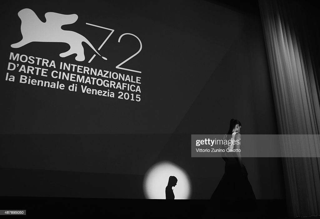 Elisa Sednaoui attends the closing ceremony during the 72nd Venice Film Festival on September 12, 2015 in Venice, Italy.