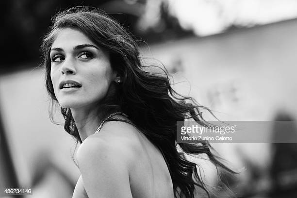 Elisa Sednaoui attends the opening ceremony and premiere of 'Everest' during the 72nd Venice Film Festival on September 2 2015 in Venice Italy during...