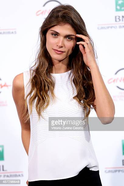 Elisa Sednaoui attends the 'Soap Opera' Photocall during The 9th Rome Film Festival at the Auditorium Parco Della Musica on October 16 2014 in Rome...