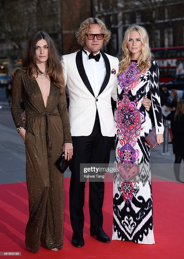 <a gi-track='captionPersonalityLinkClicked' href=/galleries/search?phrase=Elisa+Sednaoui&family=editorial&specificpeople=5525386 ng-click='$event.stopPropagation()'>Elisa Sednaoui</a>, Peter Dundas and <a gi-track='captionPersonalityLinkClicked' href=/galleries/search?phrase=Poppy+Delevingne&family=editorial&specificpeople=2348985 ng-click='$event.stopPropagation()'>Poppy Delevingne</a> attend the preview of The Glamour of Italian Fashion exhibition at the Victoria & Albert Museum on April 1, 2014 in London, England.