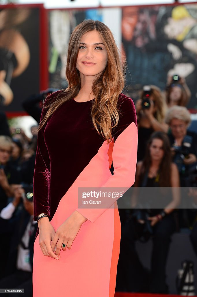 Elisa Sednaoui wears a Jaeger-LeCoultre watch at the 'Under The Skin' Premiere during the 70th Venice Film Festival at the Palazzo del Cinema on September 3, 2013 in Venice, Italy.