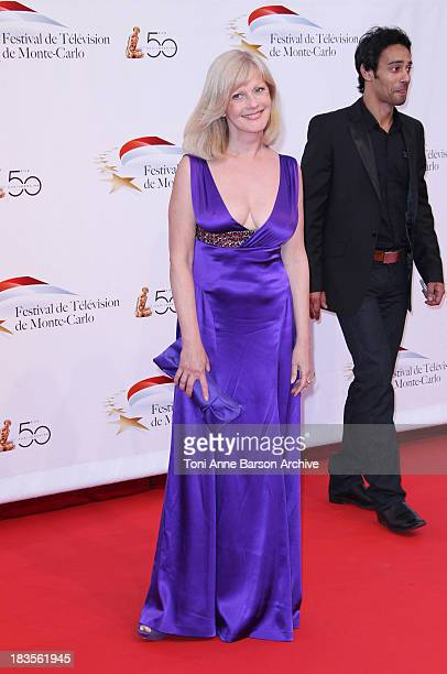 Elisa Servier attends the opening night of the 2010 Monte Carlo Television Festival held at the Grimaldi Forum on June 6 2010 in MonteCarlo Monaco