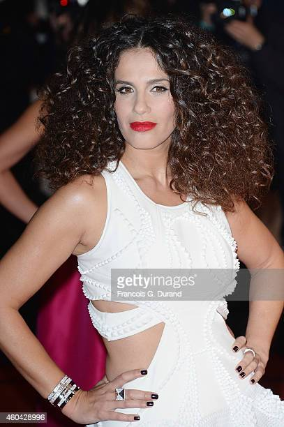 Elisa Tovati arrives at the 16th NRJ Music Awards at Palais des Festivals on December 13 2014 in Cannes France