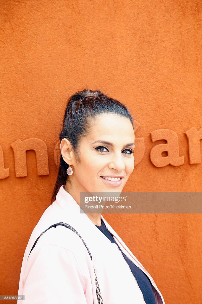 <a gi-track='captionPersonalityLinkClicked' href=/galleries/search?phrase=Elisa+Tovati&family=editorial&specificpeople=847740 ng-click='$event.stopPropagation()'>Elisa Tovati</a> attends day four of the French Tennis Open at Roland Garros on May 25, 2016 in Paris, France.