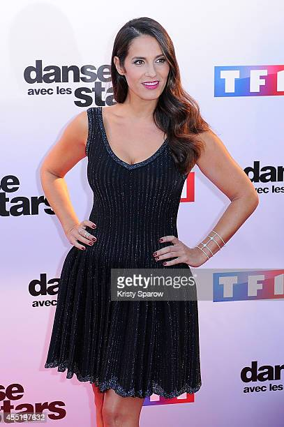 Elisa Tovati attends the 'Danse Avec Les Stars 2014' Photocall at TF1 on September 10 2014 in Paris France