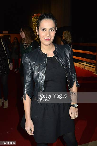 Elisa Tovati attends the Gucci Paris Masters 2012 opening gala at Parc Paris Nord Villepinte on November 29 2012 in Paris France