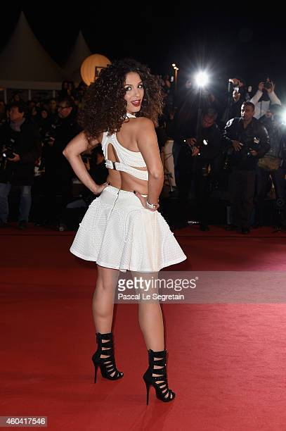 Elisa Tovati attends the NRJ Music Awards at Palais des Festivals on December 13 2014 in Cannes France