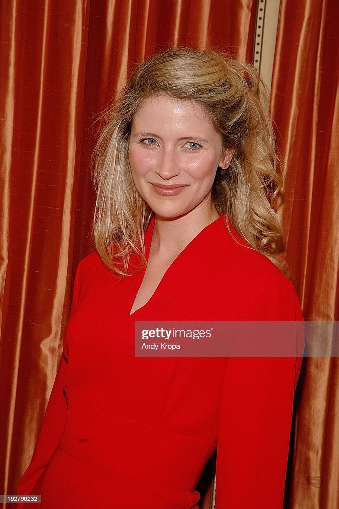 Elisabeth Anthony Gray attends the 'Breakfast At Tiffany's' Press Preview at Cafe Carlyle on February 27, 2013 in New York City.