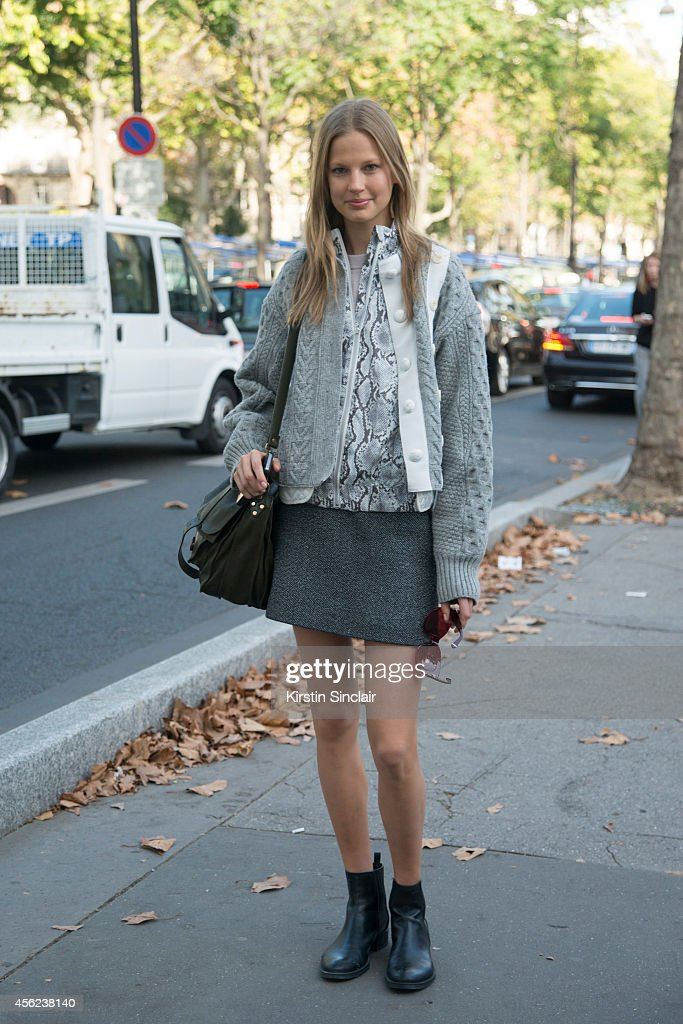 Elisabeth Erm on day 4 of Paris Collections Women on September 26 2014 in Paris France