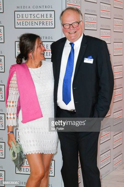 Elisabeth Fritzenkoetter and Andreas Fritzenkoetter during the German Media Award 2016 at Kongresshaus on May 25 2017 in BadenBaden Germany The...