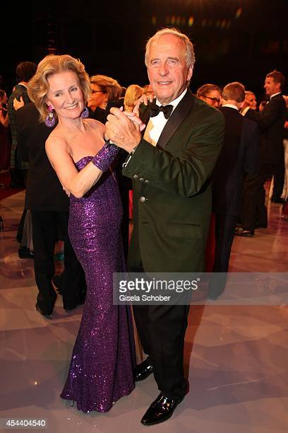 Elisabeth Guertler and Alfons Schneider attend the Salzburg Festival Ball at Felsenreitschule on August 30 2014 in Salzburg Austria
