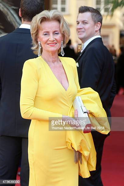 Elisabeth Guertler attends the AIDS Solidarity Gala at Hofburg Vienna on May 16 2015 in Vienna Austria