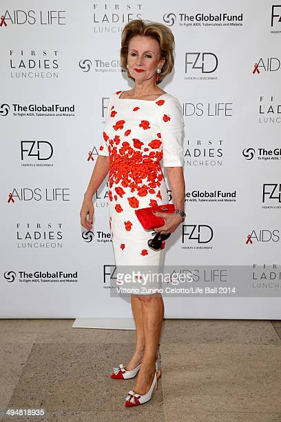 Elisabeth Guertler attends the Life Ball 2014 First Ladies Luncheon at Belvedere Palace on May 31 2014 in Vienna Austria