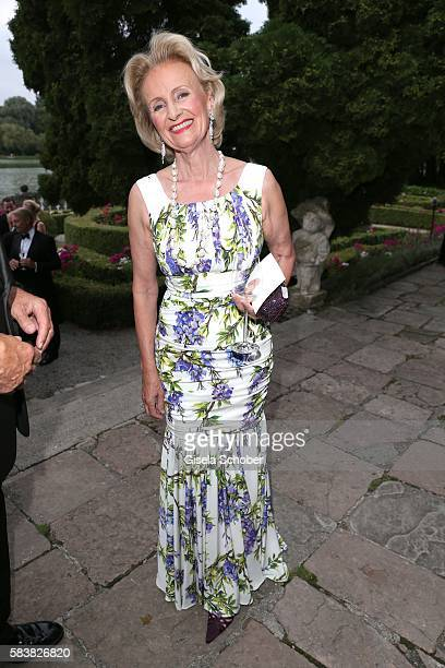 Elisabeth Guertler during the ISA gala at Schloss Leopoldskron on July 27 2016 in Salzburg Austria