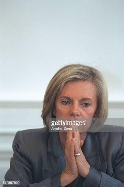 Elisabeth Guigou Employment Minister