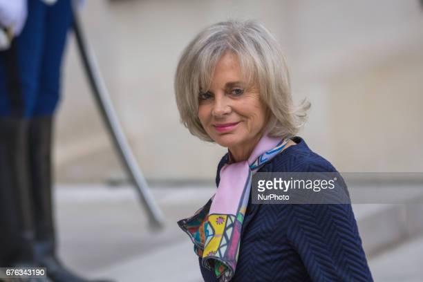 Elisabeth Guigou In Paris France on May 2 2017