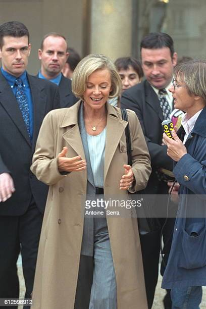 Elisabeth Guigou Minister of Justice