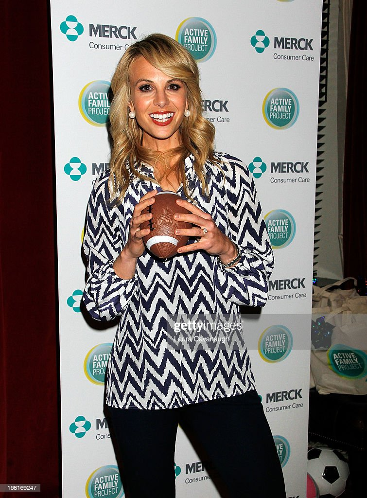 Elisabeth Hasselback attends the Active Family Project kick-off event at the Gramercy Park Hotel Rooftop on May 6, 2013 in New York City.
