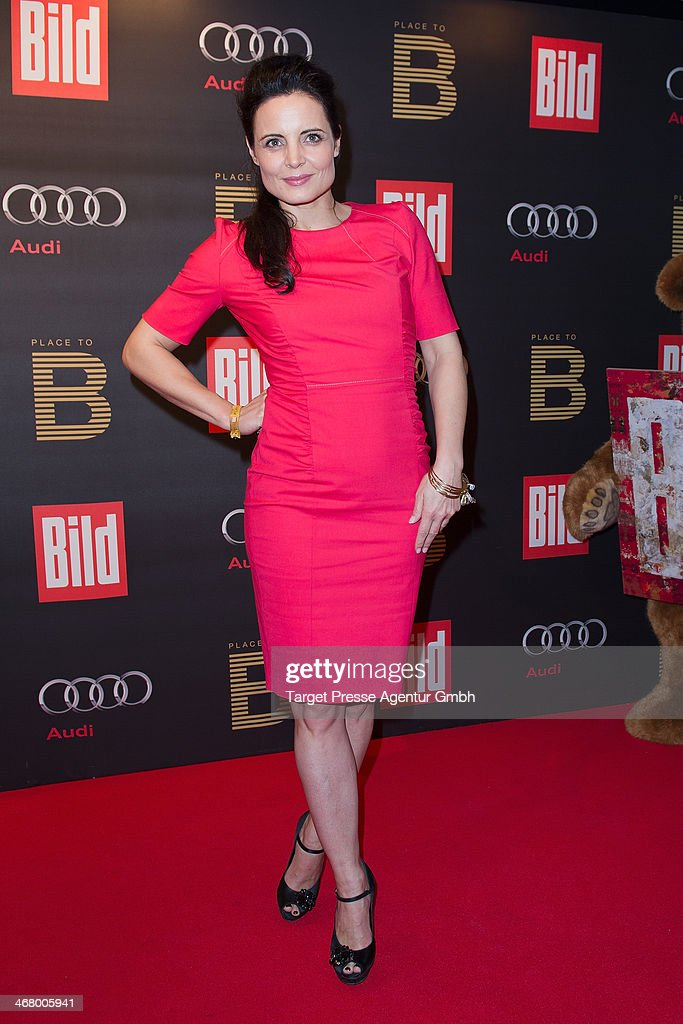 Elisabeth Lanz attends the BILD 'Place to B' Party at Grill Royal on February 8, 2014 in Berlin, Germany.