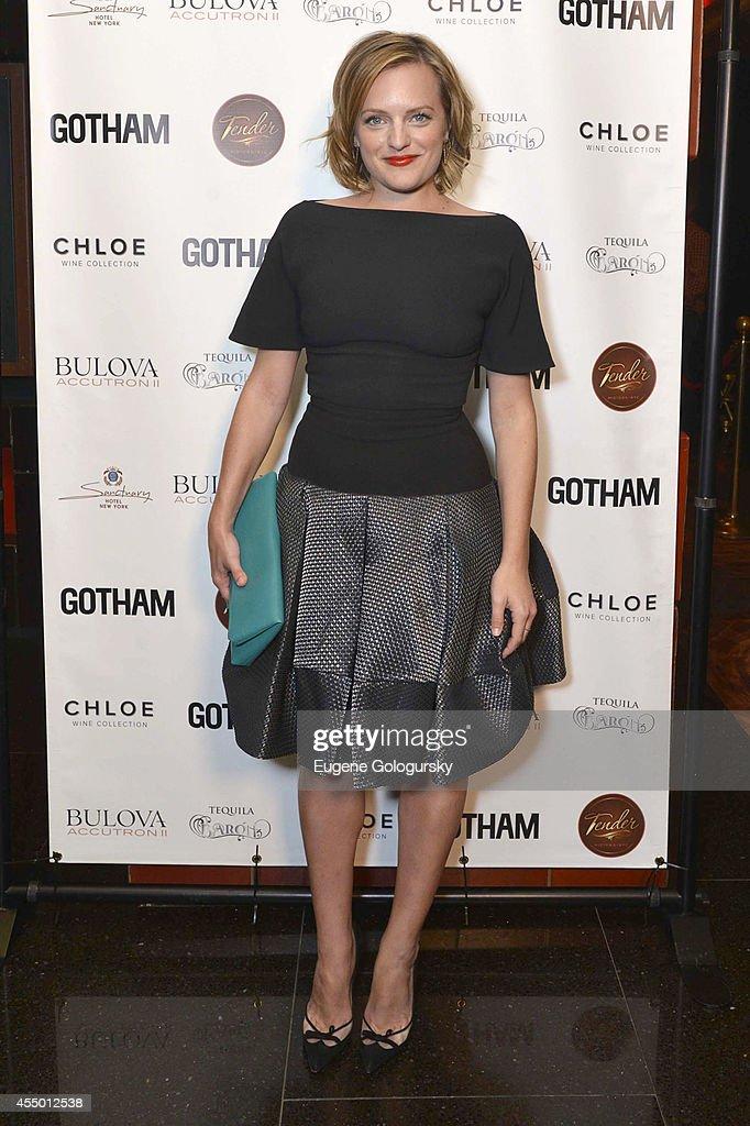 Elisabeth Moss at Gotham Magazine Celebrates September Cover Star Elisabeth Moss At Tender Restaurant at the Sanctuary Hotel on September 8 2014 in...