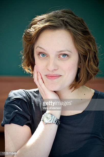 Elisabeth Moss at the 'Get Him To The Greek' Press Conference at The Greek Theatre on May 22 2010 in Los Angeles California