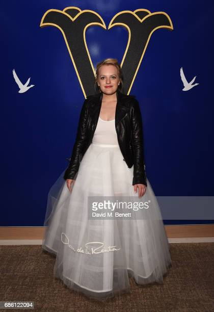 Elisabeth Moss attends The Square screening afterparty at the Versini GREY GOOSE popup at Five Seas Hotel on May 20 2017 in Cannes France