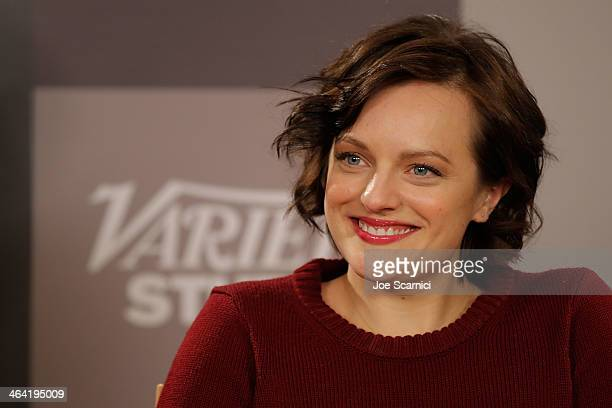 Elisabeth Moss attends The Variety Studio Sundance Edition Presented By Dawn Levy on Day 4 of the 2014 Park City2014 in Park City Utah
