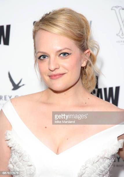 Elisabeth Moss attends Top Of The Lake China Girl VIP Reception during the 70th annual Cannes Film Festival at Five Seas Hotel on May 23 2017 in...