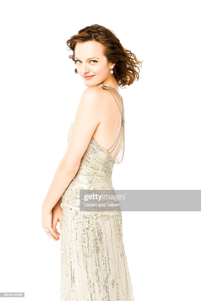 Elisabeth Moss is photographed at the 2008 Emmy Awards for People Magazine on September 21, 2017 in Los Angeles, California.