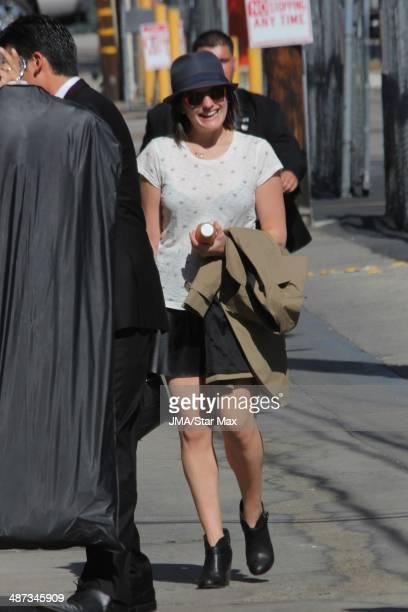 Elisabeth Moss is seen on April 28 2014 in Los Angeles California