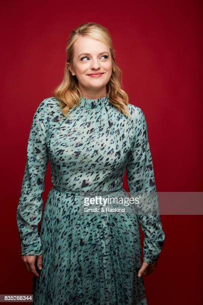 Elisabeth Moss of SundanceTV's 'Top of the Lake China Girl' poses for a portrait during the 2017 Summer Television Critics Association Press Tour at...