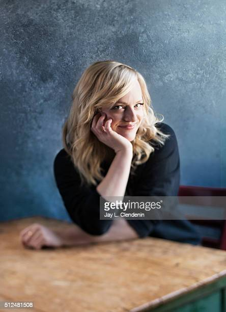 Elisabeth Moss of the film 'The Free World' poses for a portrait at the 2016 Sundance Film Festival on January 24 2016 in Park City Utah CREDIT MUST...