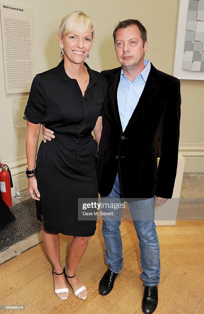 Elisabeth Murdoch (L) and <a gi-track='captionPersonalityLinkClicked' href=/galleries/search?phrase=Matthew+Freud&family=editorial&specificpeople=240282 ng-click='$event.stopPropagation()'>Matthew Freud</a> attend the preview party for The Royal Academy Of Arts Summer Exhibition 2013 at Royal Academy of Arts on June 5, 2013 in London, England.