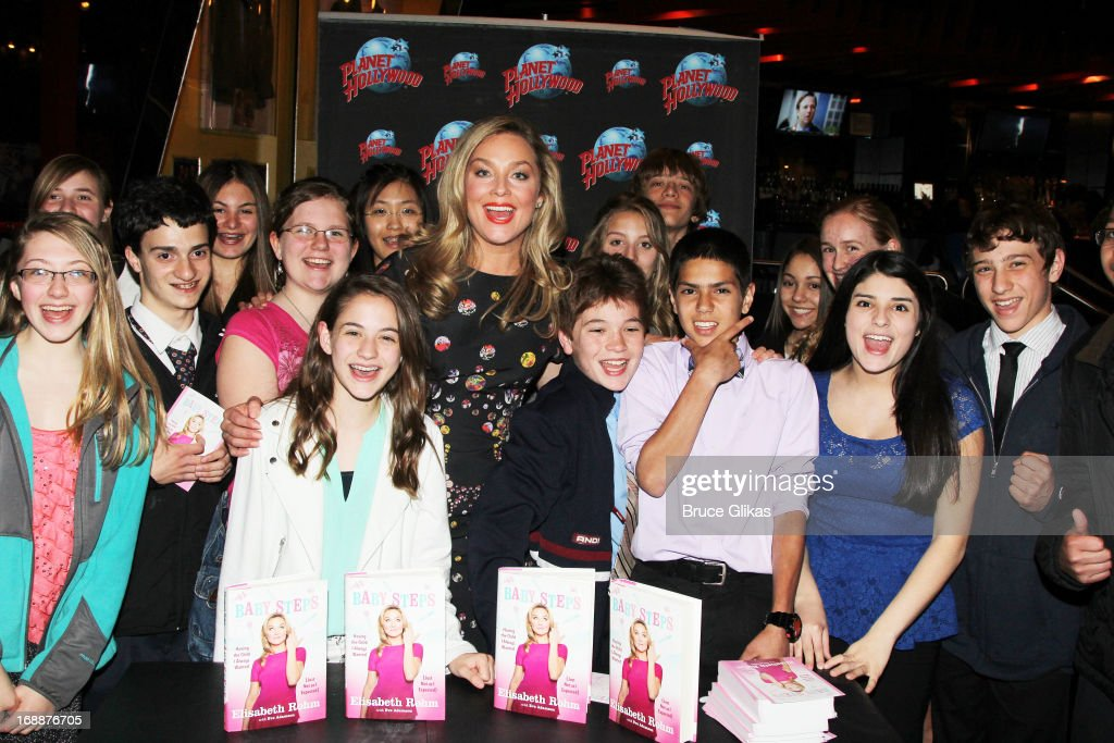 <a gi-track='captionPersonalityLinkClicked' href=/galleries/search?phrase=Elisabeth+Rohm&family=editorial&specificpeople=203139 ng-click='$event.stopPropagation()'>Elisabeth Rohm</a> and fans celebrate her new book 'Baby Steps: Having the Child I Always Wanted (Just Not as I Expected)'at Planet Hollywood Times Square on May 15, 2013 in New York City.