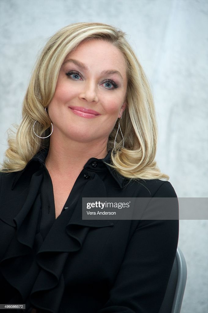 Elisabeth Rohm at the 'Joy' Press Conference at the InterContinental Hotel on November 29, 2015 in Century City, California.