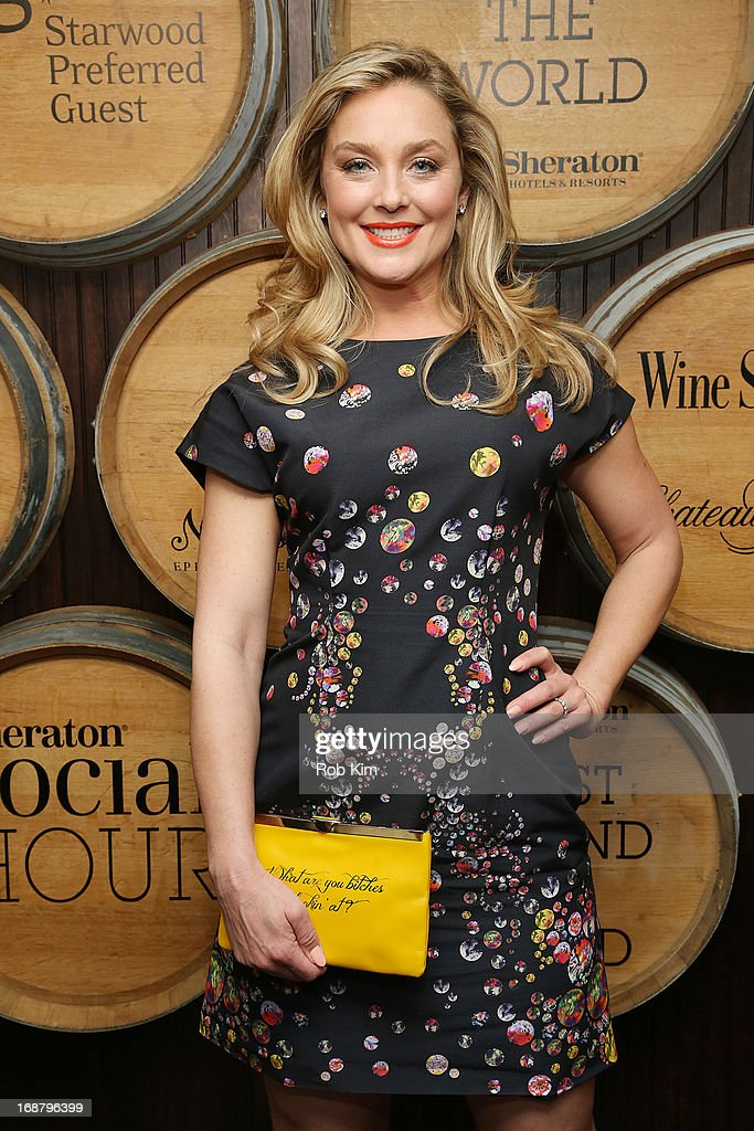 Elisabeth Rohm attends 'Toast Around the World' Celebration of Sheraton Social Hour! at New York Sheraton Hotel & Tower on May 15, 2013 in New York City.
